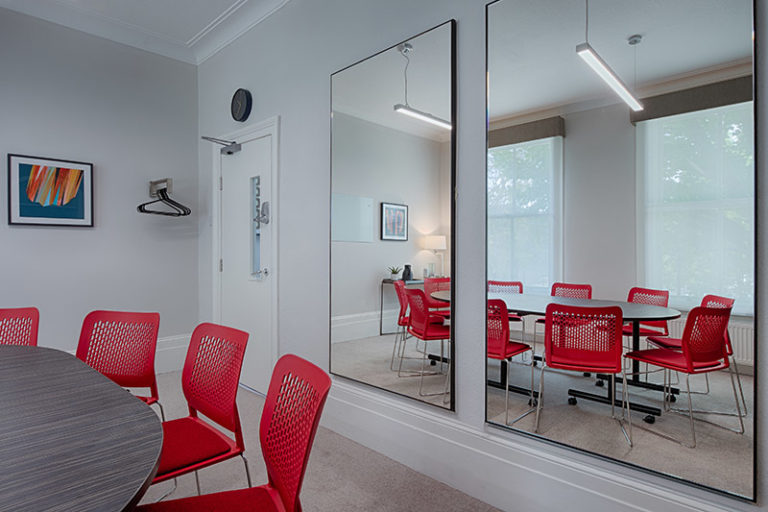 Group counselling room in London