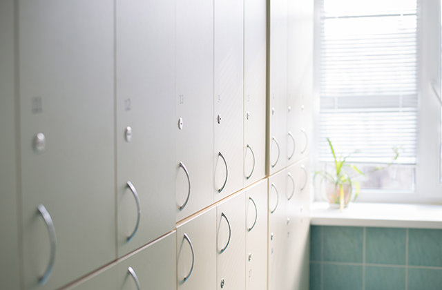 On-site storage lockers