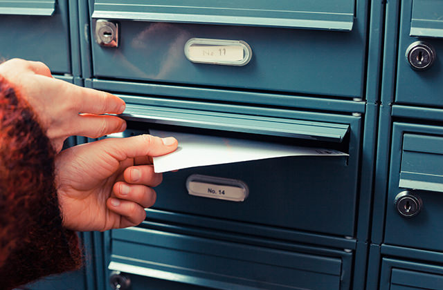 Mail handling and Registered Work Address for your clinic